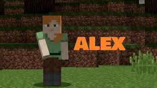 Minecraft ALEX vs  STEVE  DIRT HOUSE vs DIAMOND HOUSE in Minecraft! Part 9