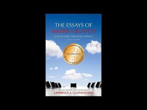 Amateur Audiobook) The Essays of Warren Buffett, 4th Edition - YouTube