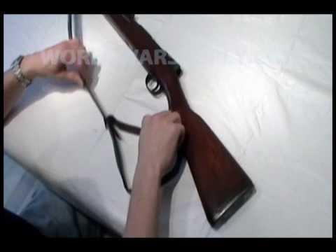Japanese Arisaka Type 38 Arisaka Sling Instructions