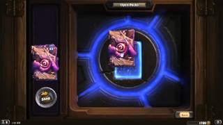 8 OLD GODS PACK and the result - Lucky man ever - HearthStone 2016