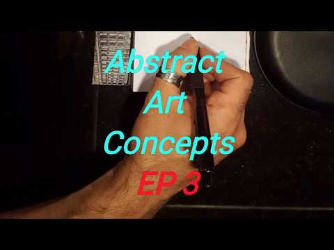 Abstract Demonstration Drawing for Painting Idea by Jeff EP3