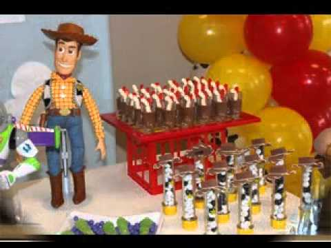 & Toy story party decorating ideas - YouTube