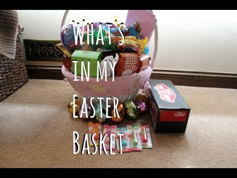 What's In My Easter Basket!