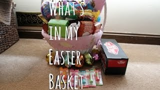 What's In My Easter Basket! Thumbnail