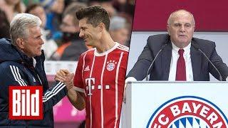 """""""Heynckes-Verbleib durchaus möglich"""" - Hoeneß auf Jahreshauptversammlung des FC Bayern München"""