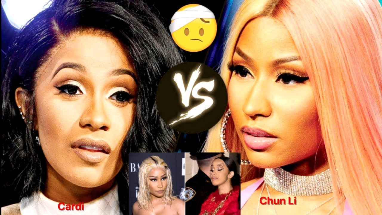 Cardi B Gets A Huge MAY-KNOT After An Altercation With Nicki Minaj At Fashion Show.