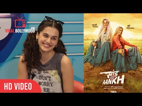Taapsee Pannu About Her Upcoming Movie Saand Ki Aankh | Viralbollywood Mp3