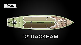 BOTE 2016 Rackham Fishing and Expedition Paddle Board