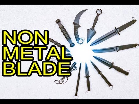 Deadliest Non-Metal Weapons - Cold Steel Nightshade FGX Series Demo