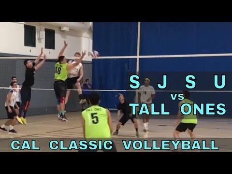 SJSU vs Tall Ones - Cal Classic Volleyball Tournament (11/10/18)