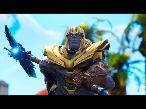 i became Thanos in fortnite... 😂