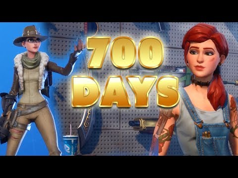 All My Maxed Stuff - 700 Days Of Fortnite | Fortnite Account Status Save The World