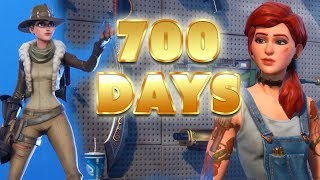 All My Maxed Stuff - 700 jours de Fortnite (fr) Statut de compte Fortnite Save The World
