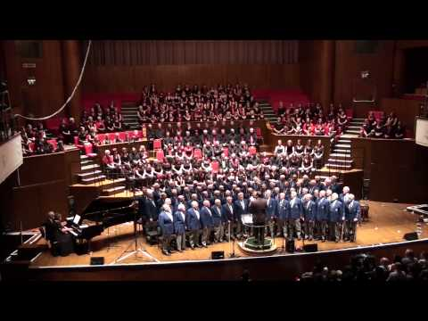 Soldier's Chorus. Bristol Male Voice Choir, Gurt Winter Concert 2012, The Colston Hall