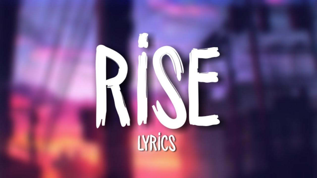 Jonas Blue - Rise ft  Jack & Jack (Lyrics / Lyric Video)