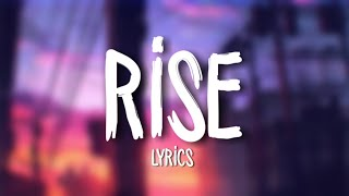 Video Jonas Blue - Rise ft. Jack & Jack (Lyrics / Lyric Video) download MP3, 3GP, MP4, WEBM, AVI, FLV Juni 2018