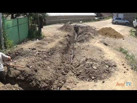 Նավուր գյուղում կառուցվում է նոր ջրագիծ