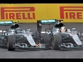 Rosberg And Hamilton Clash On Last Lap | Austrian Grand Prix 2016