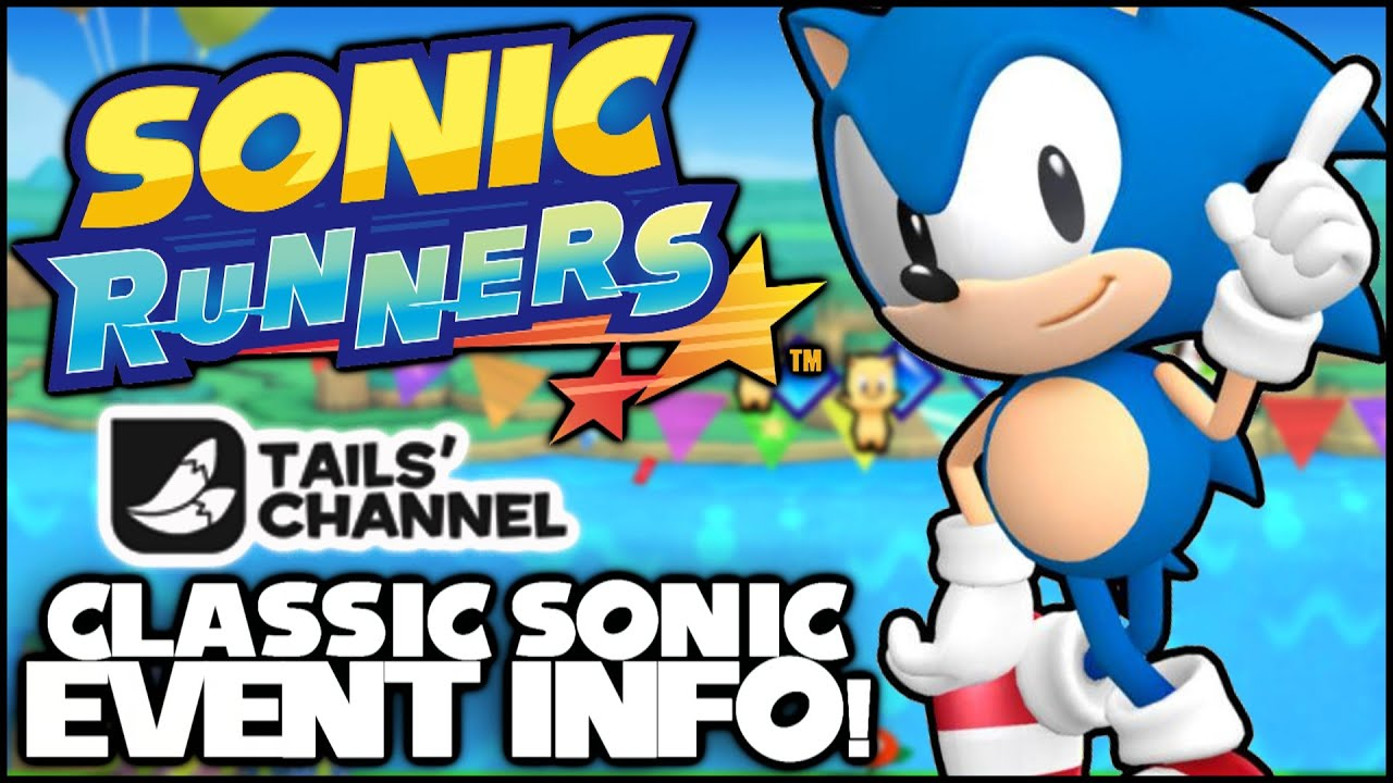 Sonic Runners Classic Sonic Birthday On Windy Hill Event