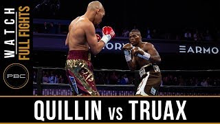 Quillin vs Truax FULL FIGHT: April 13, 2019 - PBC on FS1