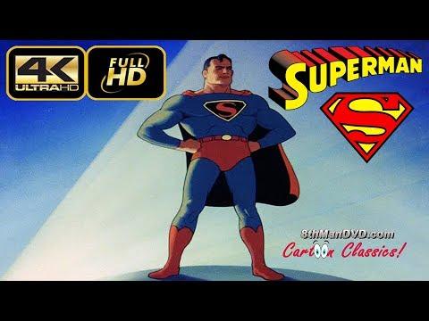 SUPERMAN CARTOON: The Mad Scientist (1941) (Remastered) (Ultra 4K)