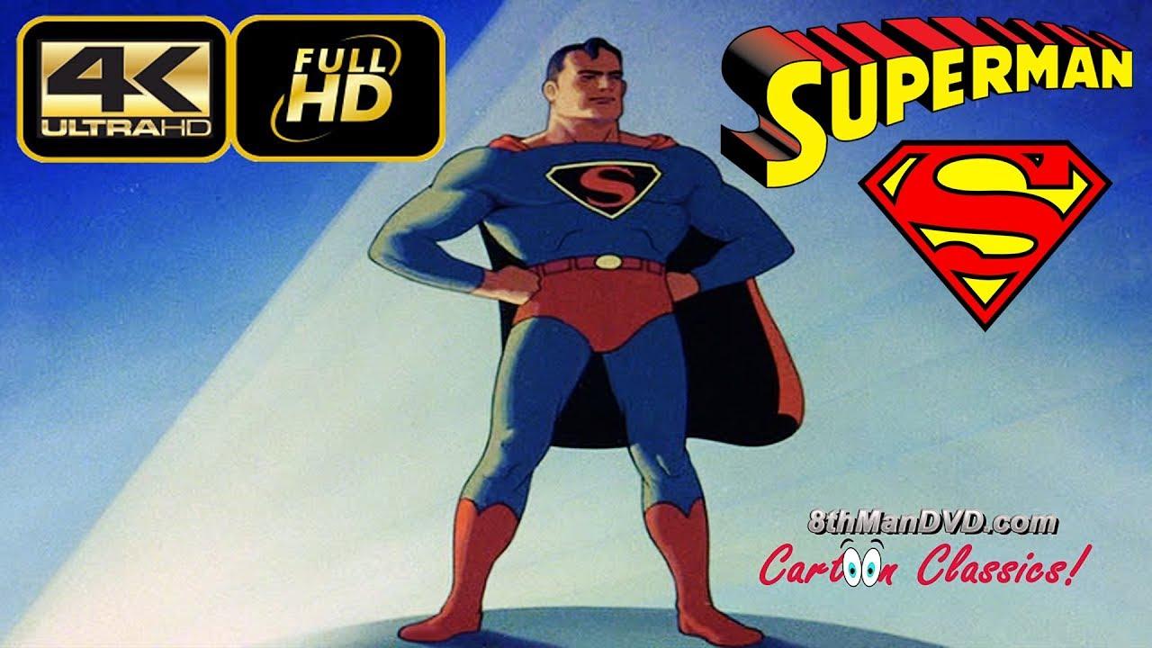 superman cartoon image  SUPERMAN CARTOON: The Mad Scientist (1941) (Remastered) [ULTRA HD 4K ...