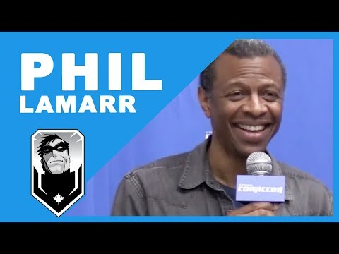 Exclusive with Phil LaMarr!