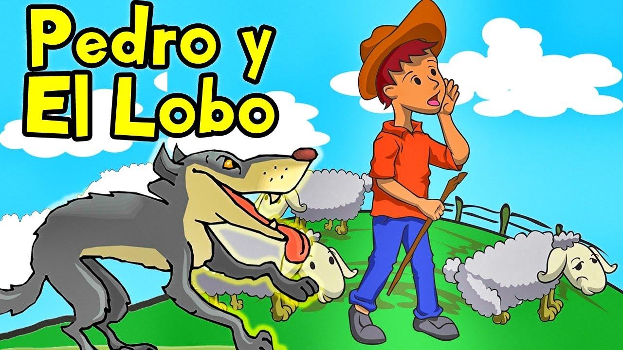 Canciones Infantiles - Pedro y El Lobo Feroz con Letra