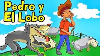 Canciones Infantiles - Pedro y El Lobo Feroz con Letra - Cuentos Clásicos Lunacreciente