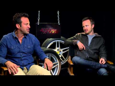 Scott Waugh and Aaron Paul on Need for Speed