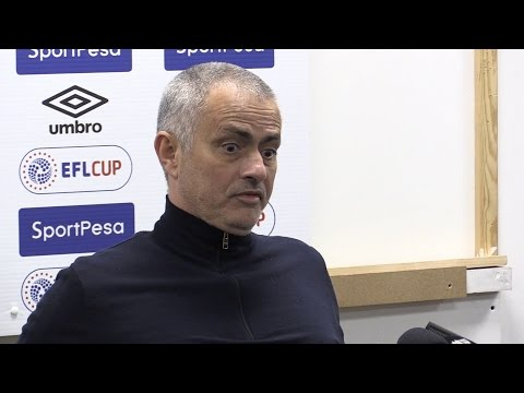 Jose Mourinho Full Pre-Match Press Conference - Manchester United v Wigan - FA Cup