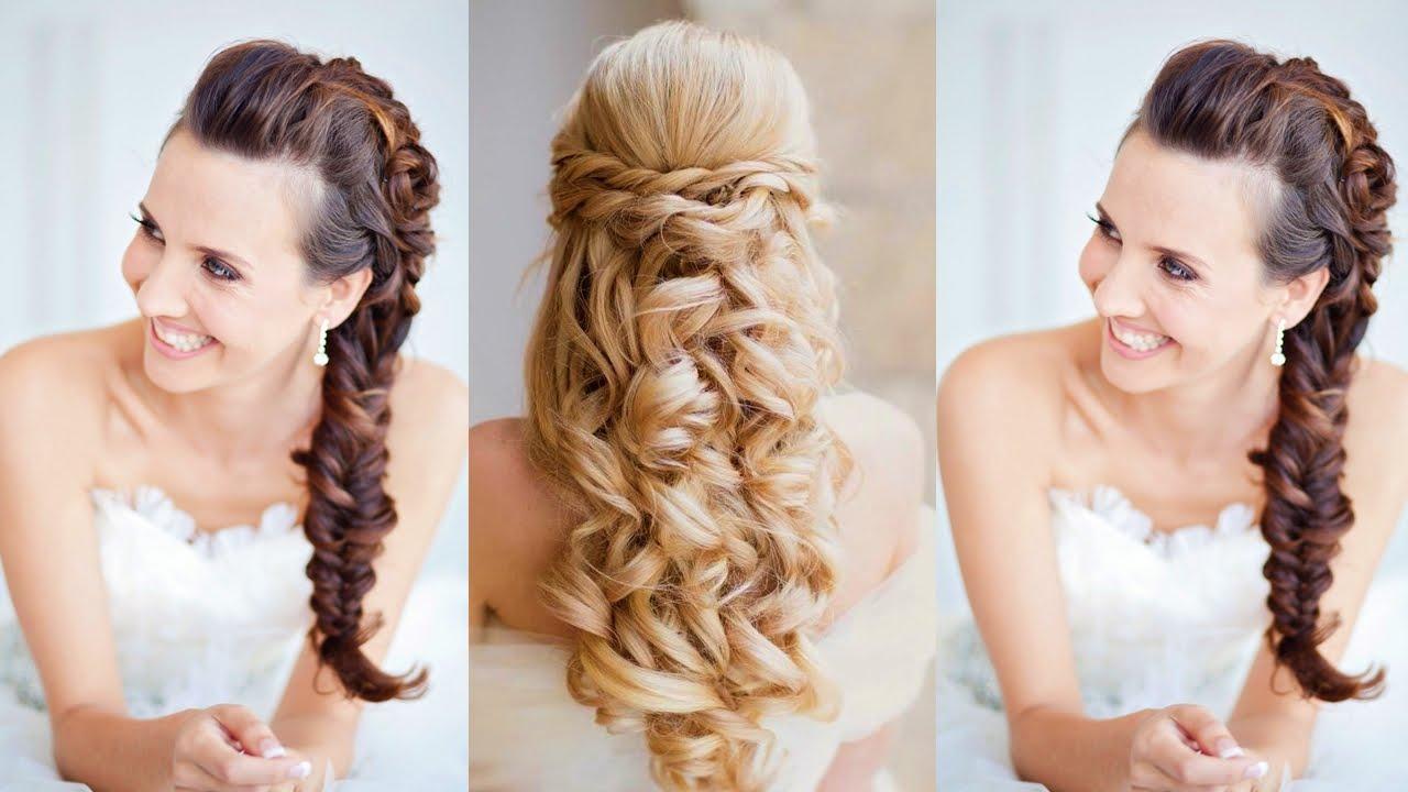 Moda para novia 2015 peinados para boda youtube - Peinados modernos para boda ...