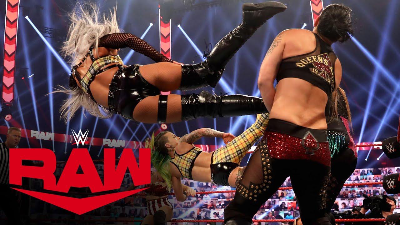 Rose & Brooke vs. Riott Squad vs. Evans & Royce vs. Baszler & Jax: Raw, Oct. 19, 2020