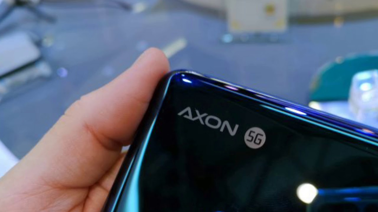 ZTE Axon 10 Pro 5G - looks exciting