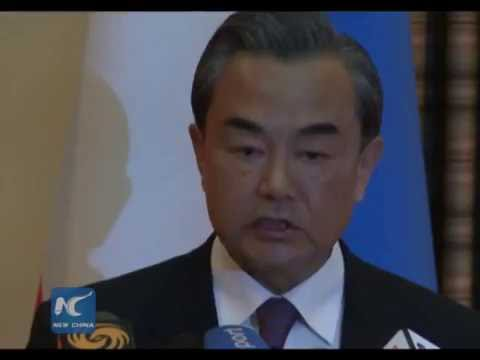 Chinese FM makes proposal for SCO development