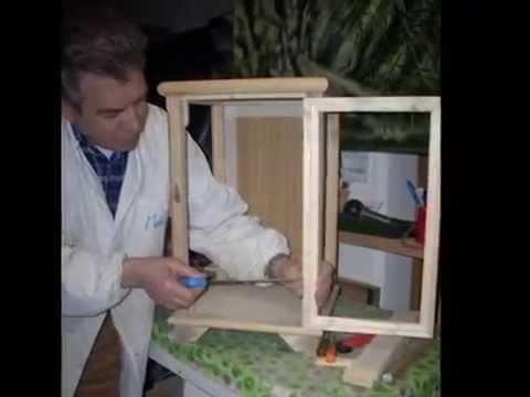 La vetrinetta la bacheca espositiva youtube for Acquario a colonna