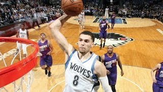 Zach LaVine Drops a CAREER HIGH 40 Points vs the Kings | 12.23.16