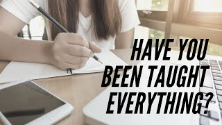 Why you HAVEN'T been taught everything on the exam 🤔😱😭