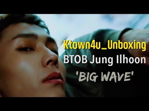 [Ktown4u Unboxing] BTOB Ilhoon 1st Mini Album [Big Wave]