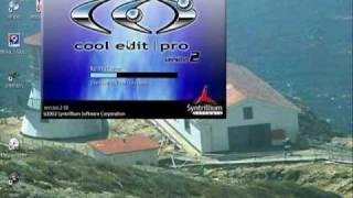 COMO REALIZAR GRABACION CON Cool Edit  (A)  PP LEVI IO STUDIO