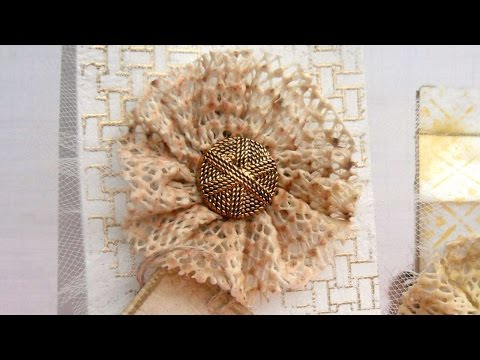How To Create Faux Fabric Rosette Embellishments - DIY Crafts Tutorial - Guidecentral