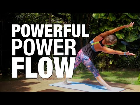 Powerful Power Flow Yoga Class - Five Parks Yoga