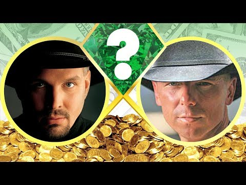 WHO'S RICHER? - Garth Brooks or Kenny Chesney? - Net Worth Revealed! (2017)