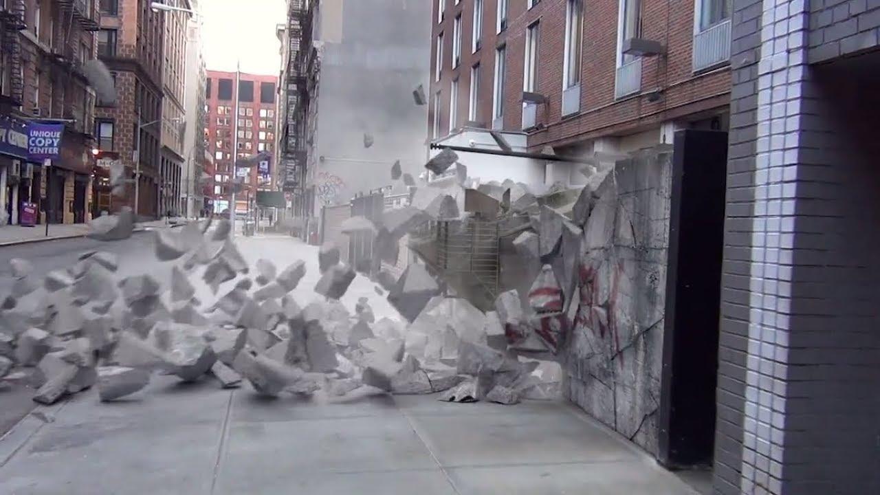 VFX with C4D: Tank Crash using Cinema 4D