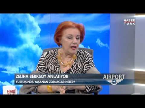 Habertürk / Airport: Konuğumuz Zeliha Berksoy