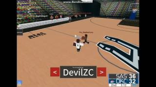 [TSC ROBLOX] NBL round 1 Western Conference San Antonio Spurs vs Oklahoma City Thunder1
