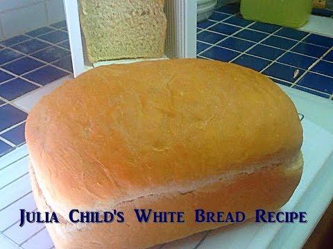 White Bread by Julia Child's Recipe