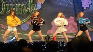 Dumb Dumb - Red Velvet (레드벨벳) Live @ 2015 Casspoint Awards