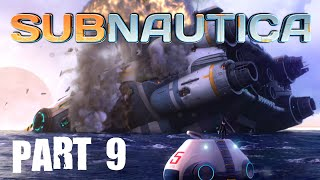 S1ippery Jim plays: Subnautica - Part 9 - Hull Breach!
