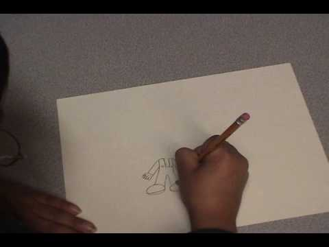 david - how to draw mario